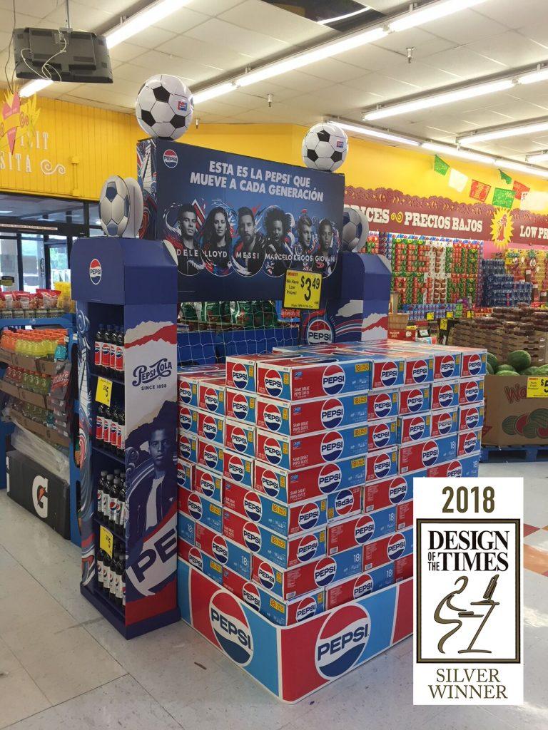 <h4>SILVER: Pepsi® Generations Hispanic Soccer Merchandiser/Spanner</h4>