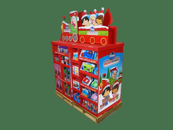 Mattel Kroger Train Studio Pallet