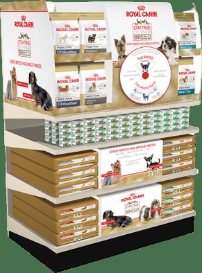 Royal Canin Product Display